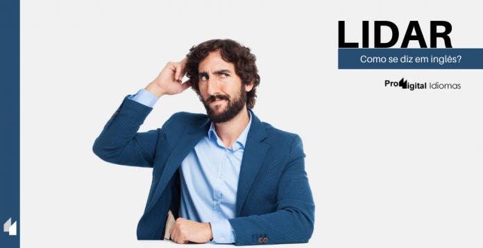 Como se diz LIDAR em inglês?