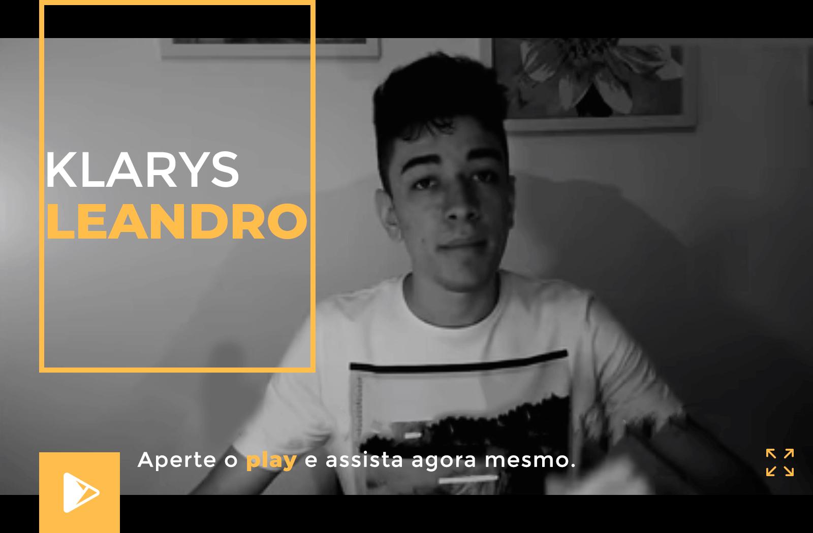Depoimento Klarys Leandro