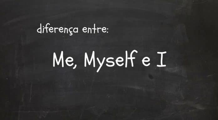 diferença entre Me, Myself e I