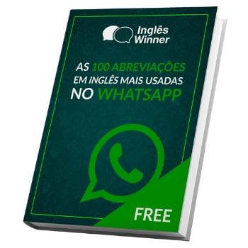 Ebook 100 Abreviações em Inglês para WhatsApp