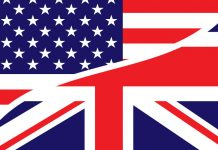 inglês americano e britânico