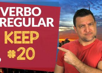 verbo irregular keep
