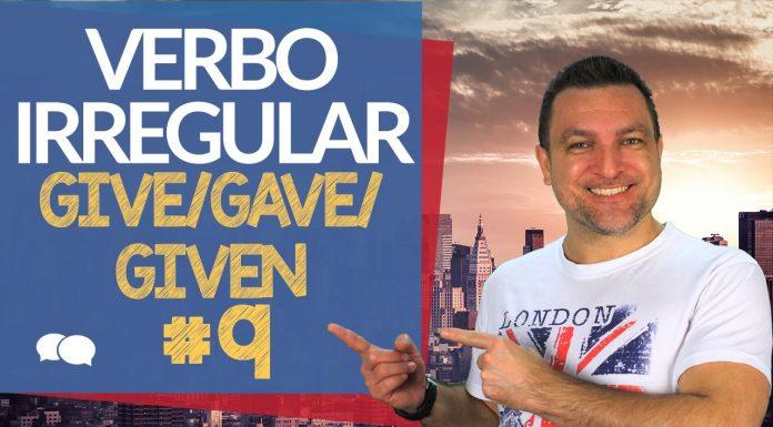 verbo irregular give