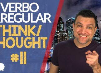 verbo irregular think