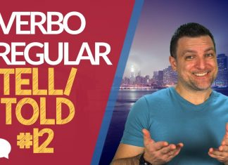 verbo irregular tell