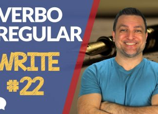 verbo irregular write
