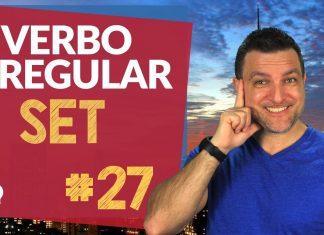 verbo irregular set