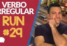 verbo irregular run
