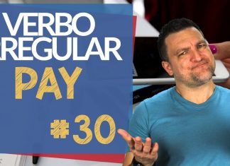 verbo irregular pay