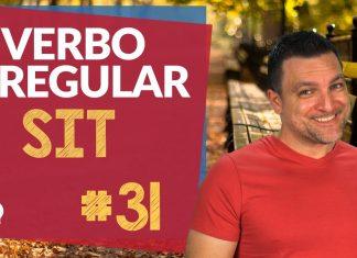 verbo irregular sit
