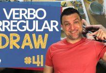 verbo irregular draw