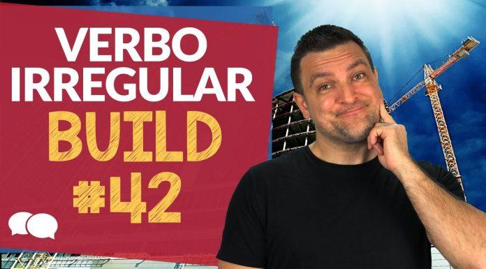 verbo irregular build