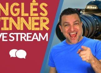 Inglês Winner - Testando Transmissão Ao Vivo - Testing Live Stream