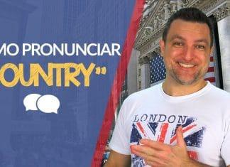Como pronunciar COUNTRY - Capitão Winner ensina