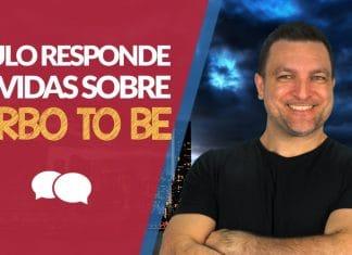 Curso Intensivo de Inglês Grátis: Prof. Paulo Barros tirando dúvidas!