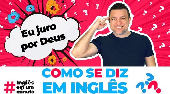 Como dizer EU JURO POR DEUS em inglês? (Inglês em um Minuto)
