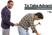 Phrasal Verb - To Take Advantage - 2