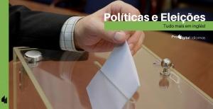 Palavras-chave de política e eleições em inglês